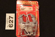 Juegos taller Warhammer perros de guerra mercenario general Nuevo en Caja Nuevo Figura de metal fuera de imprenta