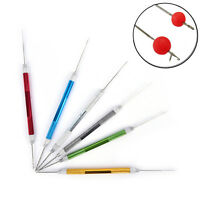 1pc 6 color aluminum needle with drill carp fishing bait fishing tackle DSUK