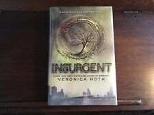 Divergent: INSURGENT #2, Veronica Roth, SIGNED/LINED true 1st print 2012 HCDJ