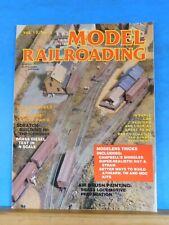 Model Railroading 1983 Spring Vol 13 #3 Weathering basics Flywheels Hay & straw