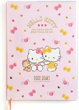 Sanrio Hello Kitty Pocket Datebook 2022 Monthly Schedule Book B6 Size From Japan