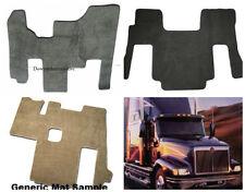 Freightliner Classic XLCustom Fit Black Carpet Cab Floor Mat 1993-2010 W/Thermos