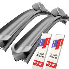 "24"" + 21"" Aero V Front Retro Wiper Blades Windscreen Flat Upgrade V2"