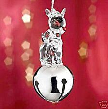 Lenox Rudolph Crystal Figurine Jingle Bell Hanging Ornament (Brand New)
