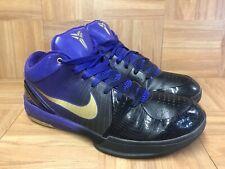 hot sales 9905f 7c5fb RARE🔥 Nike Zoom Kobe IV 4 Black Purple Gradient 344335-073 Sz 11 Lakers