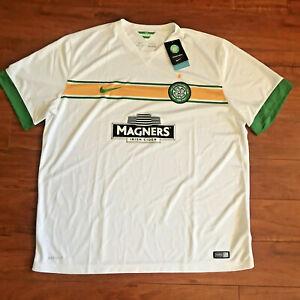 Nike CELTIC 2014 Third Football Soccer Shirt Jersey TRIKOT MAGLIA Men's 2XL NEW