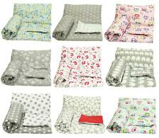 2 PIECE BABY BEDDING SET COT BED TODDLER DUVET COVER + PILLOWCASE NEW 120x90cm