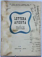 RSI LETTERA APERTA... libro Padre M.P.Tozzi Repubblica Sociale Italiana