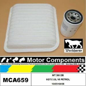 FILTER SERVICE KIT for Mitsubishi 380 DB 6G75 3.8L V6 PETROL 10/05>04/08