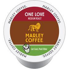 Marley Coffee K-Cup Organic Coffee-Med Roast Ethiopia Yirgacheffe One Love 96 Ct