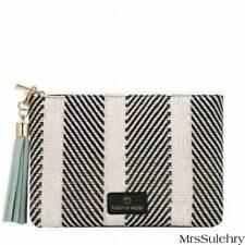 410a71a379a3 Fashion Zebra -Pendant Zipper - CLUTCH BAG / PURSE - Faux Leather/ Cotton  Lining