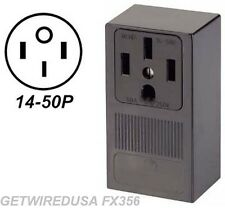 RANGE STOVE OVEN WALL OUTLET FEMALE 14-50R 4-PRONG PLUG IN BOX 220 RECEPTACLE
