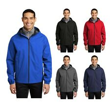 New Men's Rain Jacket Waterproof Breathable Packable Port Authority Essential