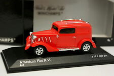 Minichamps 1/43 - American Hot  Rod Rouge
