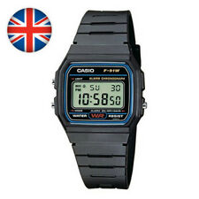 Old School Casio Collection Unisex Adults Watch F-91W-1XY UK(old but gold trend)