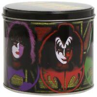 Kiss Gift Set: Logo & Icons - Ikons Porcelain Mug Metal Keychain Giftset