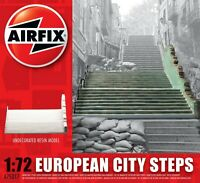 AIRFIX® 1:72 EUROPEAN CITY STEPS UNDECORATED RESIN MODEL WAR GAMING A75017