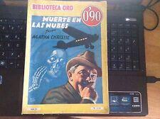 Agatha Christie, Muerte en Las Nubes, Biblioteca Oro, Primera edicion Junio 1936