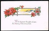 Vintage 1922 Kindest Christmas Postcard