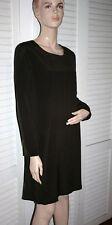 Magaschoni 100% Silk Brown Dress size 12