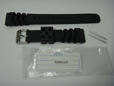 Seiko 20mm Z-20 V158-0AE0 SSC017 SSC031 SNE107 SNE109 Watch Band Black R00B011J9