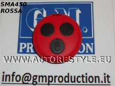 COVER ROSSA SMART FORTWO 450 3 TASTI PER TELECOMANDO - USA TUA CHIAVE ORIGINALE