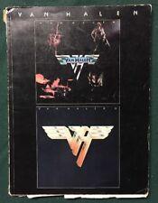 Van Halen 1 & 2 Music Song Guitar Book 1980