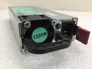 HP 1200W Power Supply Server 490594-001 438203-001 498152-001 HSTNS-PL11