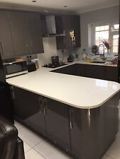 Brand New Boxed High Gloss Anthracite Grey Kitchen Complete With Appliances