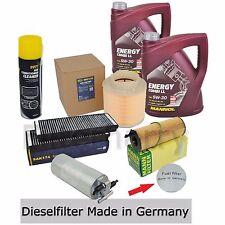 Inspektionspaket Filterset Audi A6 4F 2,7+3,0TDI 190PS & 240PS 10L Mannol 5W30
