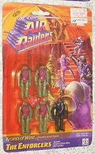 1987 AIR RAIDERS Tyrants Of Wind THE ENFORCERS Hasbro - 5 Figures - Sealed MOC