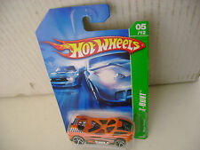 2006 HOT WHEELS TREASURE HUNT T-HUNT 5 OF 12 MEGA THRUST NEW MOC