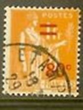 "FRANCE TIMBRE STAMP YVERT 359 "" PAIX 1F 1932-33 SURCHARGE ORANGE "" OBLITERE TB"