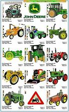 Aust'n Site Classic & Vintage Tractors 1 -15Designs on Janome CF Card (or on CD)