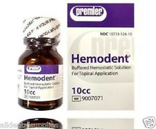 Dental Premier Hemodent 10 cc Buffered Hemostatic Solution 4 Topical Application