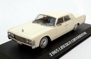 Greenlight 1/43 Scale 86328 - 1965 Lincoln Continental The Matrix - White