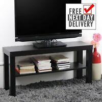 IKEA LACK TV Bench Table Wood Stand Plasma LCD LED Bed Sitting Room Black