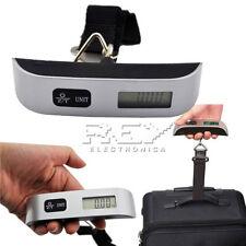 Báscula Digital de Precisión de 10g a 50kg, Balanza Portátil para Maletas d249