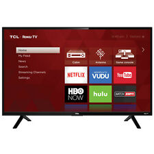 "Tcl 32"" Inch Hd 720P Smart Led Lcd Hdtv 60hz Tv Usb Hdmi Flat Screen + Remote"