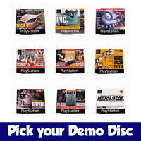 Pick Your Demo Disk - Wide Range of Official Playstation 1 PS1 Magazine Discs