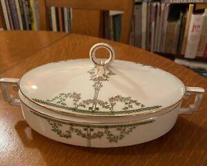 Vintage Heinrich H/&C Selb  Oval Covered Vegetable Bowl Tureen