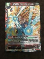 BT4-004 Holo Foil Card Dragon Ball Super CCG Mint Untapped Power SS3 Son Goku