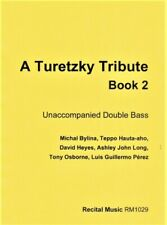 A Turetzky Tribute Book 2 Double Bass Solo Bylina, Hauta-aho, Heyes, Perez and W
