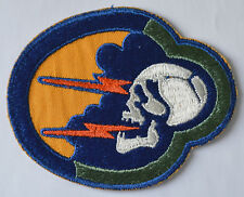USAF PATCH - 92nd TAC FIGHTER/FIS SQN RAF SHEPHERDS GROVE-RAF BENTWATERS ENGLAND
