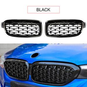 Black Front Kidney Grille For F30 F35 12-15 320i 325i 328i 335i M3 2012-2015