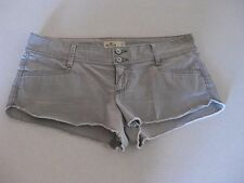 Gray Hollister Shorts by Abercrombie Perfect Cond / Stretch / Size 5 / Worn 2x's