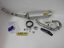 Arrow Auspuff Sportauspuff Auspuffanlage komplett Yamaha WR 125 R / X Alu