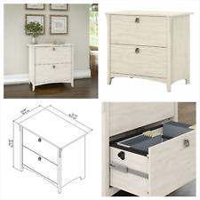 Antique White 2 Drawer Letter Amp Legal File Filing Cabinet Home Office Furniture