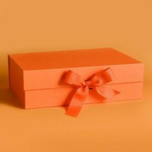 Cookie Magnetic Boxes Packaging Storage Bags Envelope Xmas Gift Box With Ribbon