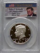 PCGS 2014-P 50th Anniversary Silver Set KENNEDY Half Dollar PR69 FIRST STRIKE Ag